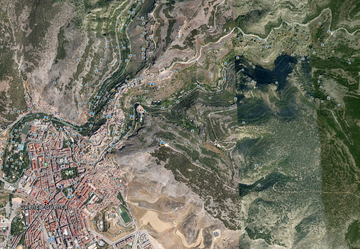 Cuenca Foto Google Earth