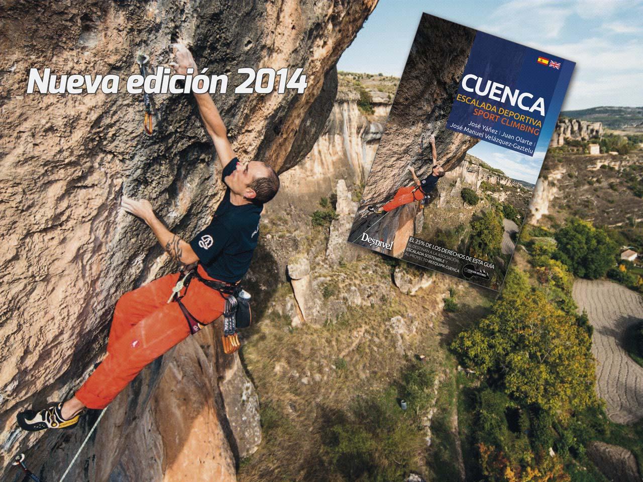 Nueva edición 2014 Guía de Escalada Cuenca