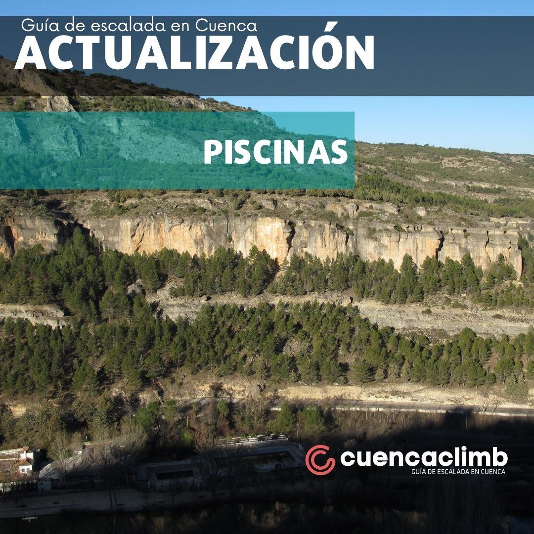 Actualización sector Piscinas