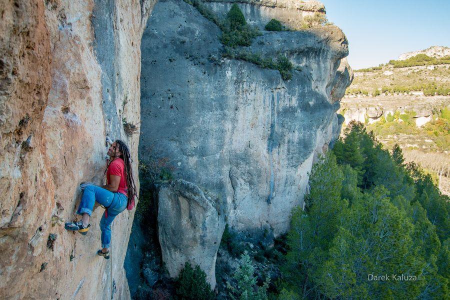 Ezequiel en Specka en el sector Piscinas de Cuenca - Foto Darek kaluza