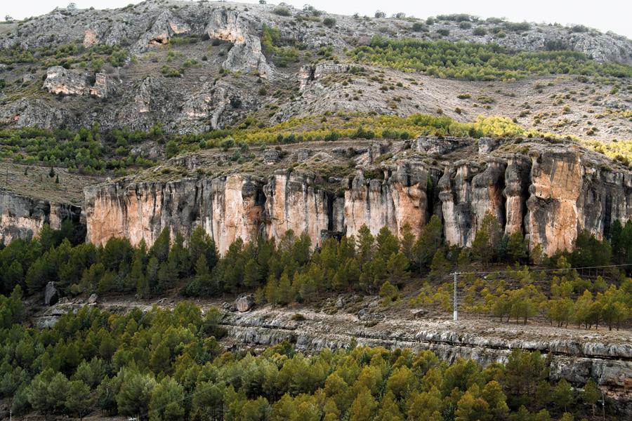 Sector Piscinas (Cuenca) vista panorámica