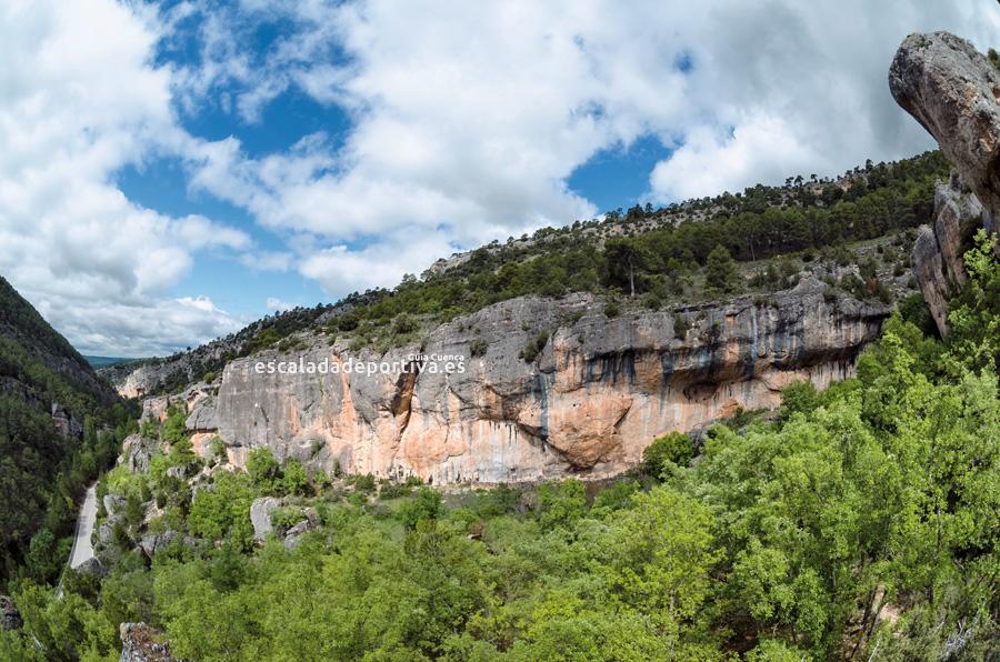 Vista del sector Valdecabras Sur de Cuenca
